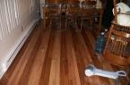 Stripe hardwood flooring